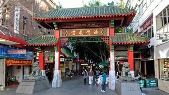 悉尼标志性的唐人街可能会成为过去式。移民后代更愿做白领