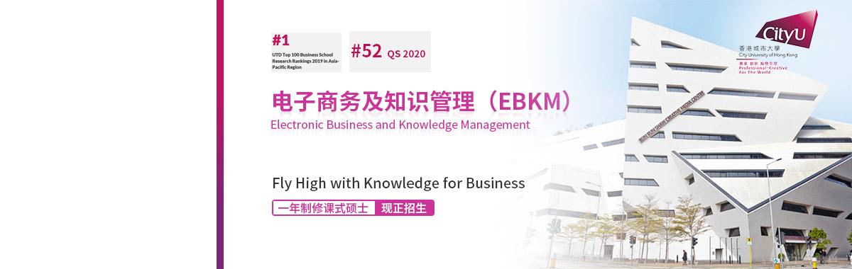 香港城大电子商务及知识管理(EBKM)